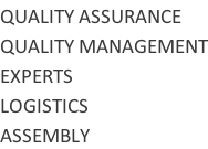 QUALITY ASSURANCE QUALITY MANAGEMENT EXPERTS LOGISTICS ASSEMBLY